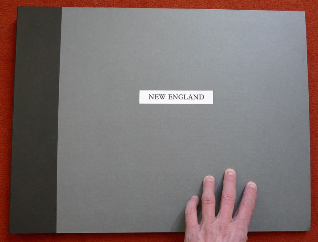 "Front cover of the original ""New England"" book, 1985."
