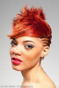 Hair styling professional photography, testimonials