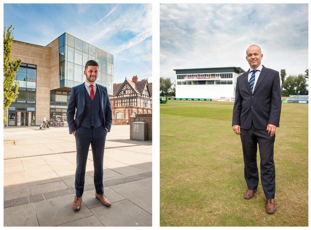 business portraits taken on location in Derby