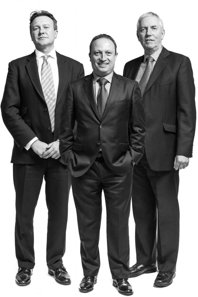 corporate headshots of company directors