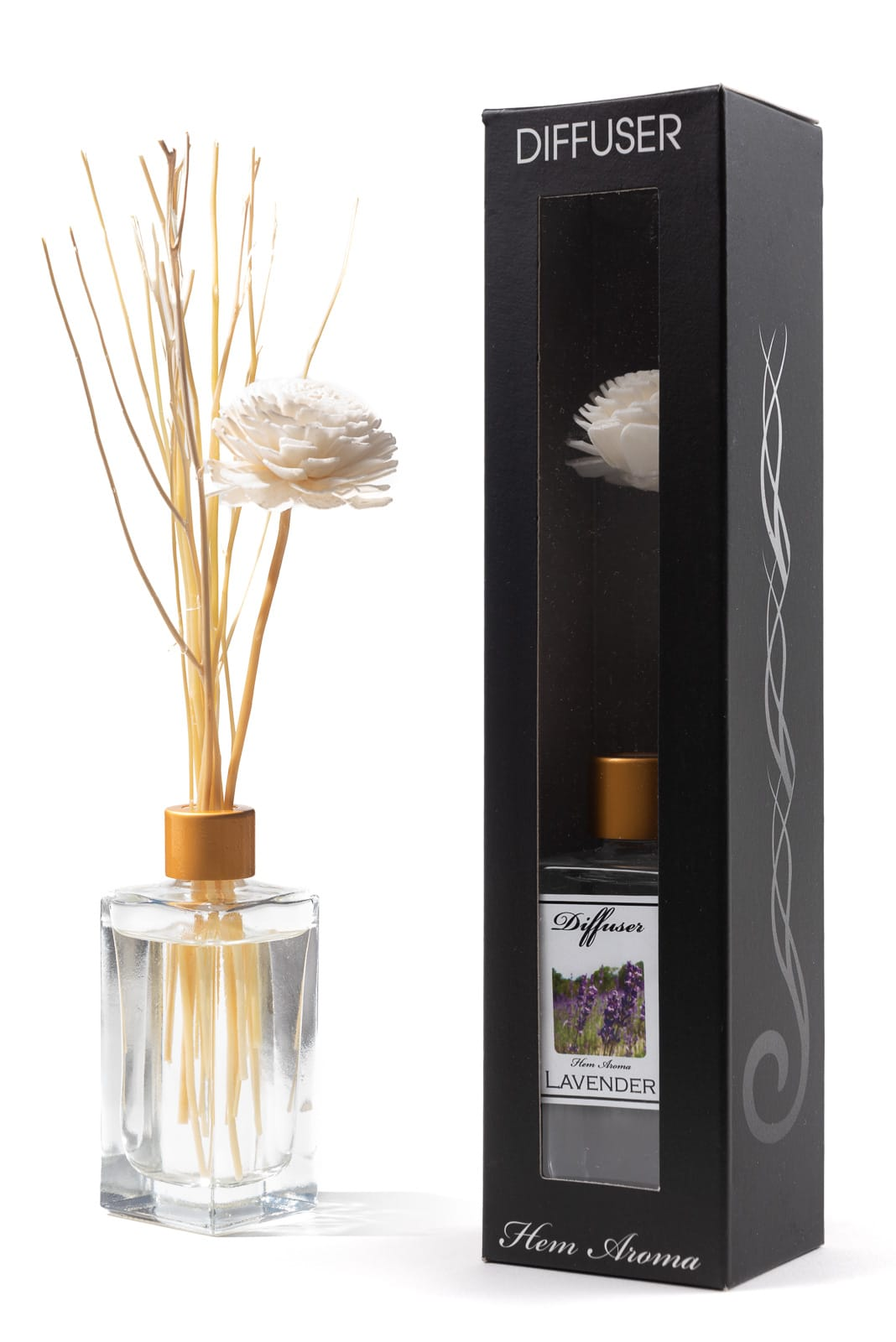 Scent diffuser with packaging