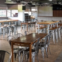 Bar at Sheffield United's ground