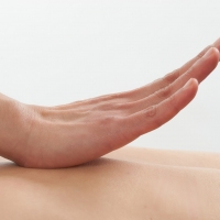 Massage therapy: shot for the company website