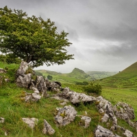 Landscape near Chrome Hill, Derbyshire