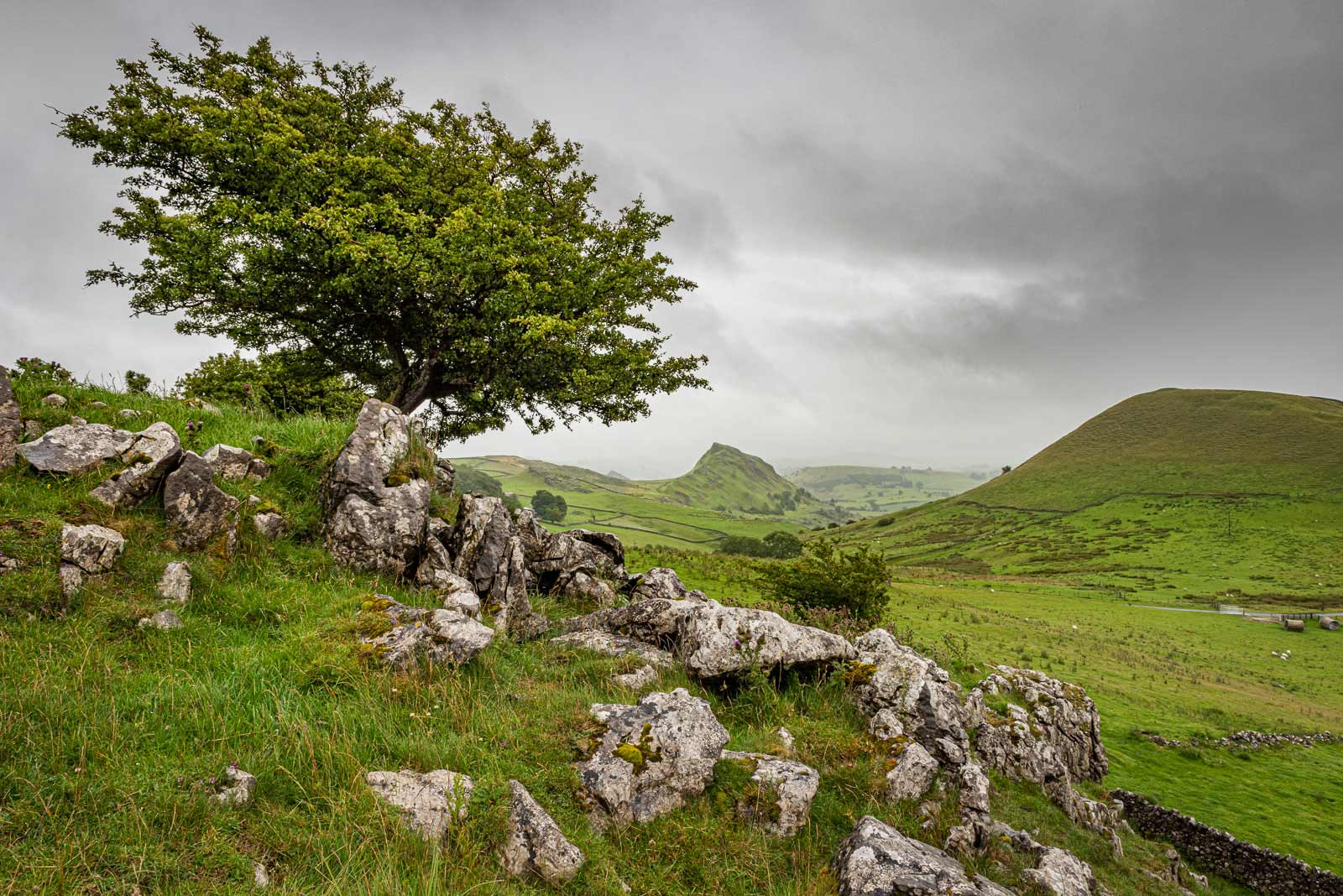 Landscape near Chrome Hill, Derbyshire