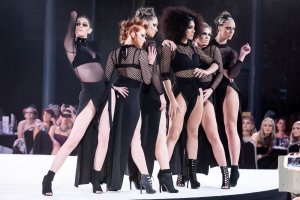 Part of the show at Francesco Hair Awards, The Roundhouse, Derby
