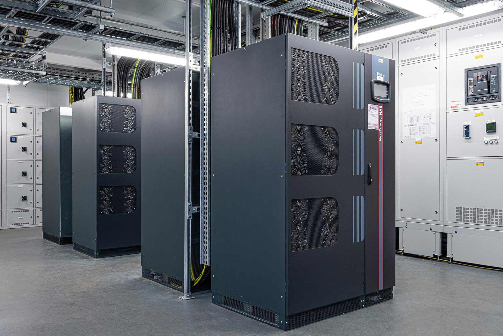 Data Centre at Warwick University